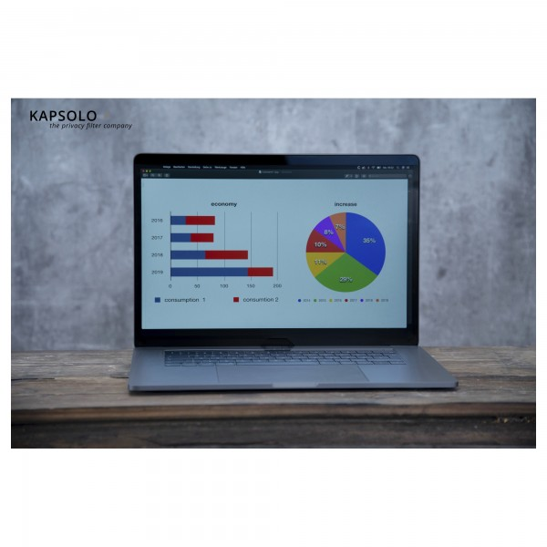 KAPSOLO 3H Anti-Glare,entspiegelnde Displayschutz Microsoft Surface Laptop 3 15''