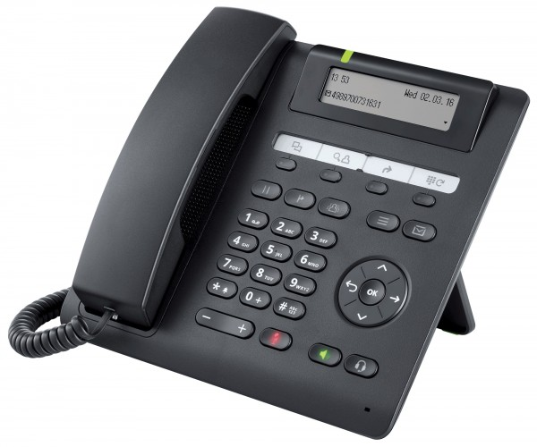 Unify OpenScape Desk Phone CP200 SIP logolos,