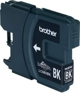 Brother Tintenpatrone LC-980BK, schwarz