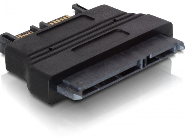 Delock Adapter Slim SATA 13 Pin > SATA 22 Pin