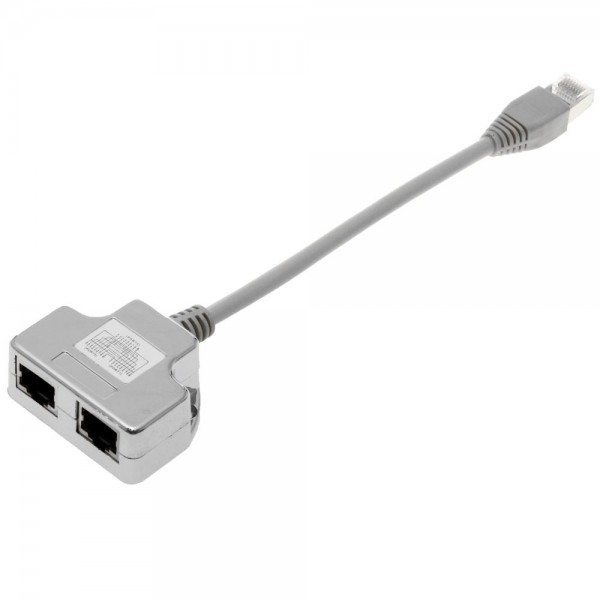 Helos T-Adapter 2 x 1:1, Cable-Sharing