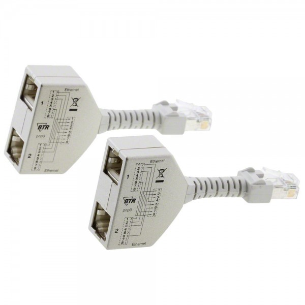 METZ CONNECT Cable-sharing Adapter pnp 3 Ethernet/Ethernet