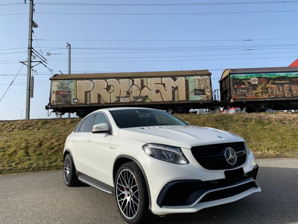 Mercedes Benz GLE 63S V8 AMG Coupe