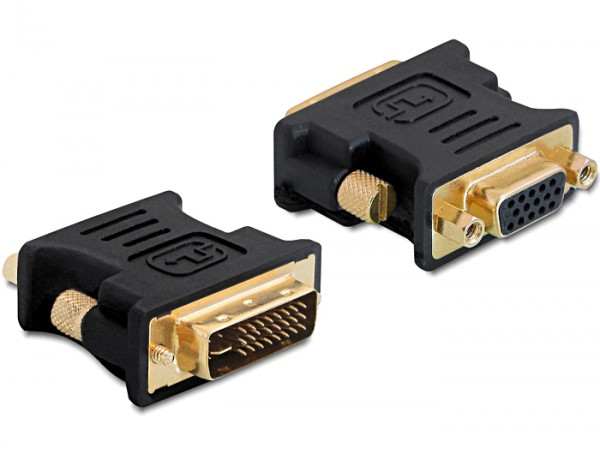 Delock Adapter VGA 15pin Buchse > DVI 24+5 Stecker